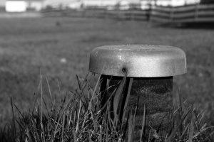 septic tank head